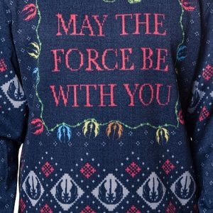 Star Wars Sublimated Faux Christmas Sweater