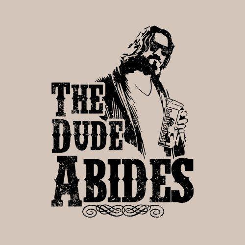 The Dude Abides The Big Lebowski T Shirt