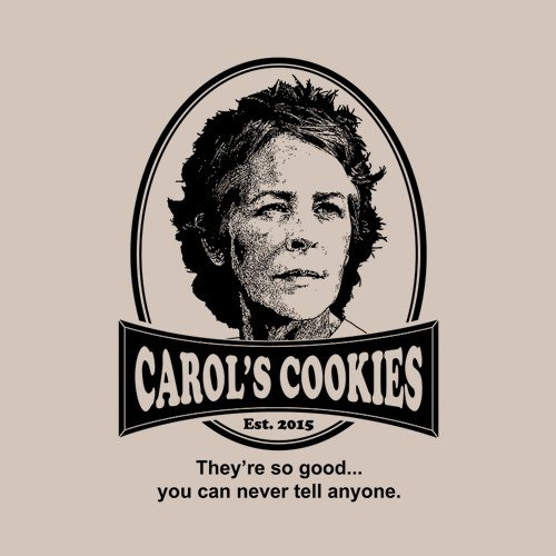 The Walking Dead Carols Cookies T Shirt