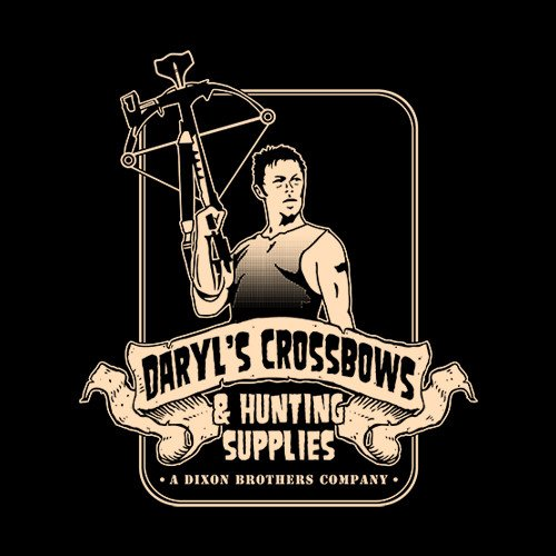 The Walking Dead Daryls Crossbows And Hunting T Shirt