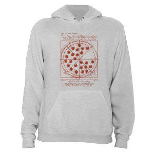 Vitruvian Pizza Spiderman Hoodie