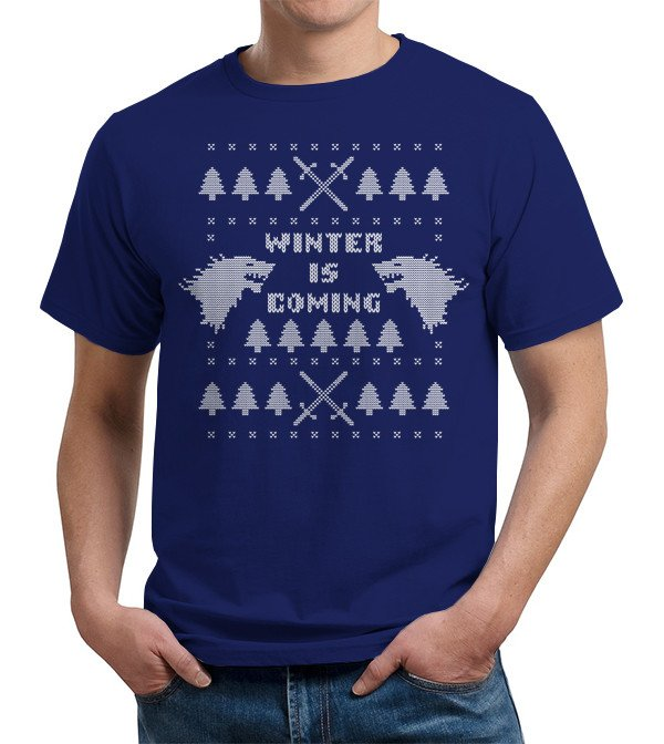 Winter Is Coming Ugly Christmas Sweater T Shirt Image2