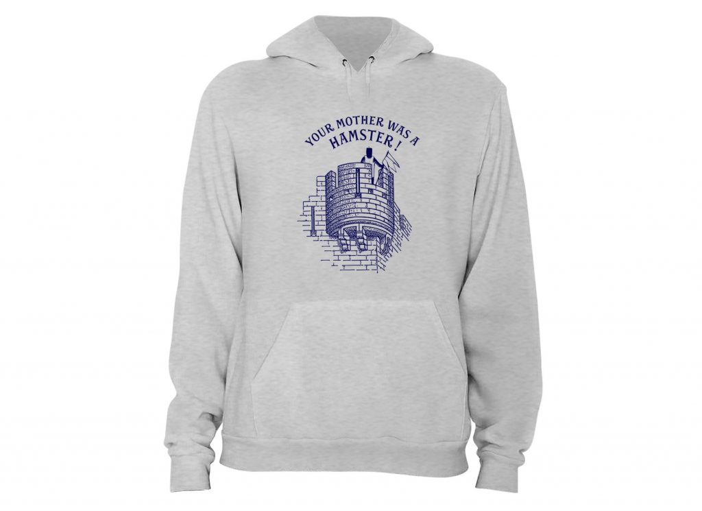 Your Mother Was A Hamster Monty Python Hoodie