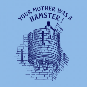 Your Mother Was A Hamster Monty Python T Shirt