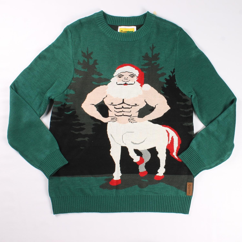 Centaur Claus Christmas Sweater