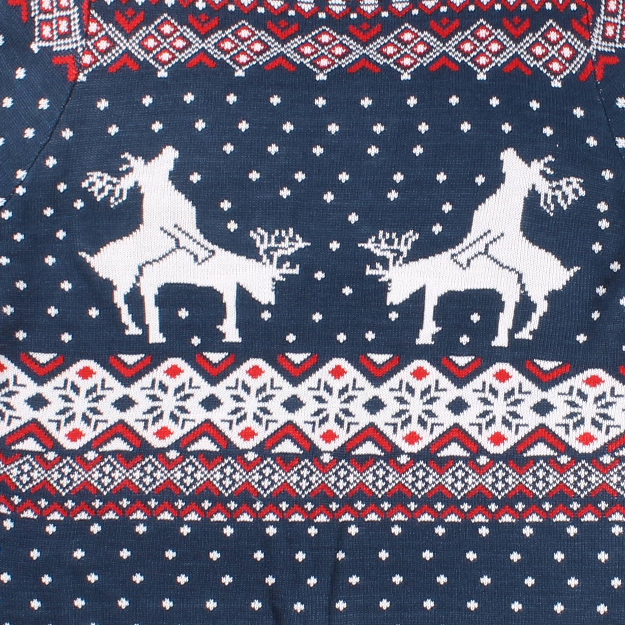 3394deb00 Reindeer Climax Christmas Sweater - PopCult Wear