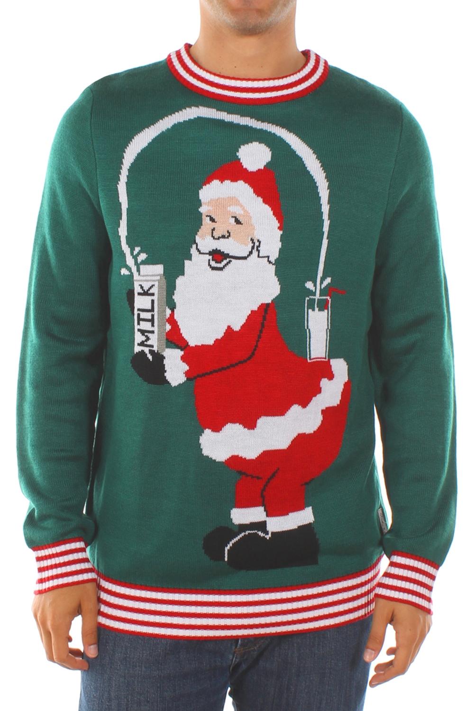 Santa Break the Internet Christmas Sweater - PopCult Wear