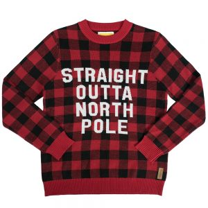 Straight Outta North Pole Christmas Sweater