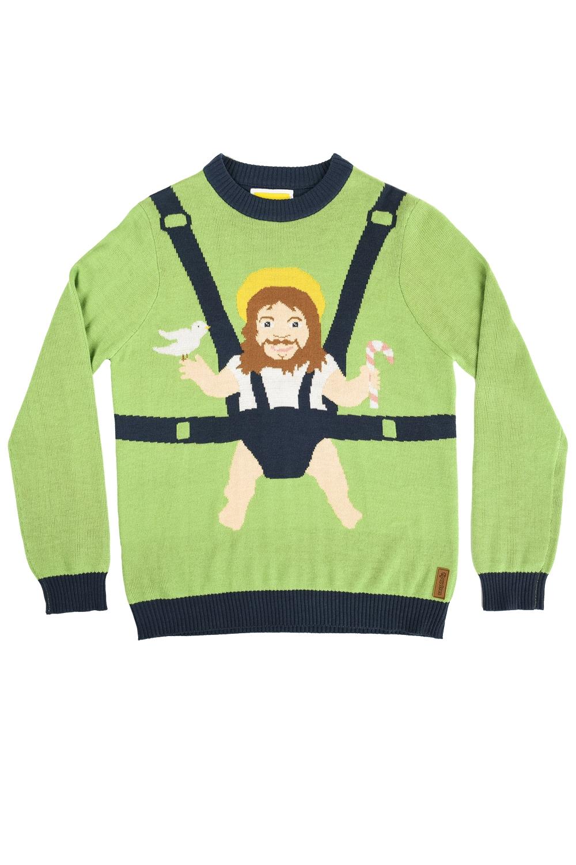Sweet Baby Jesus Christmas Sweater Popcult Wear