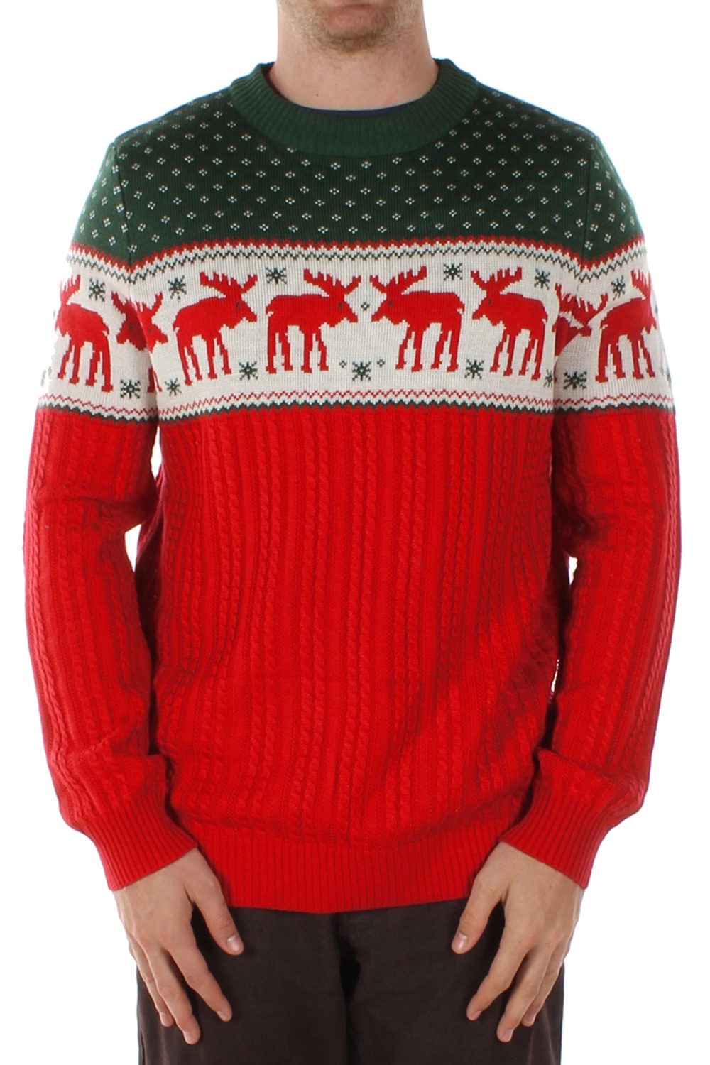 the night before movie moose christmas sweater