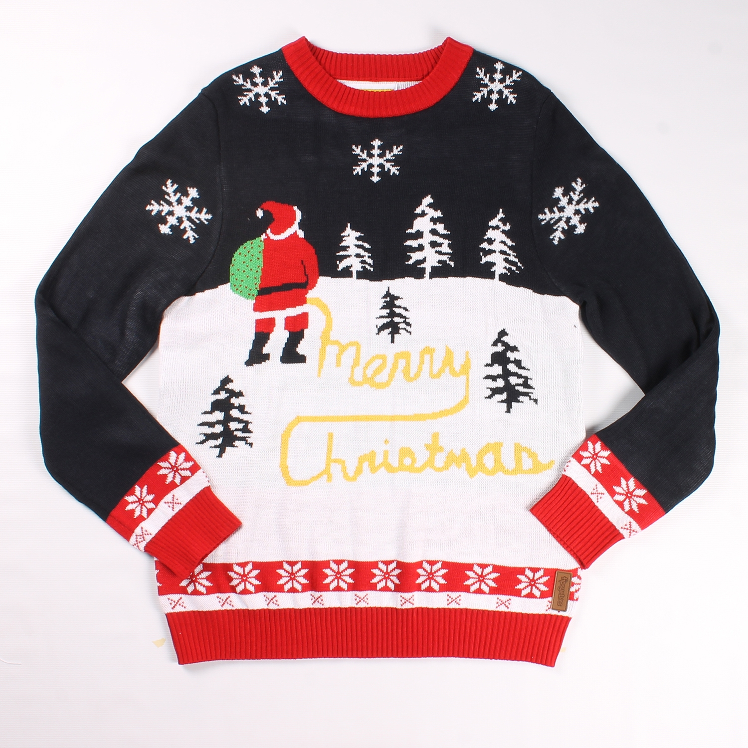 Yellow Snow Christmas Sweater