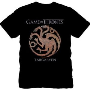 Game of Thrones House Targaryen Dragon T Shirt
