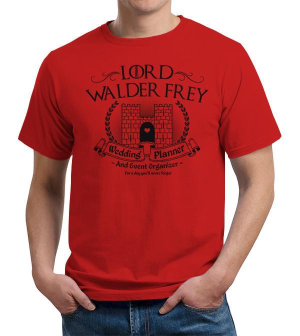 Game of Thrones Lord Walder Frey Wedding Planner T Shirt Image2