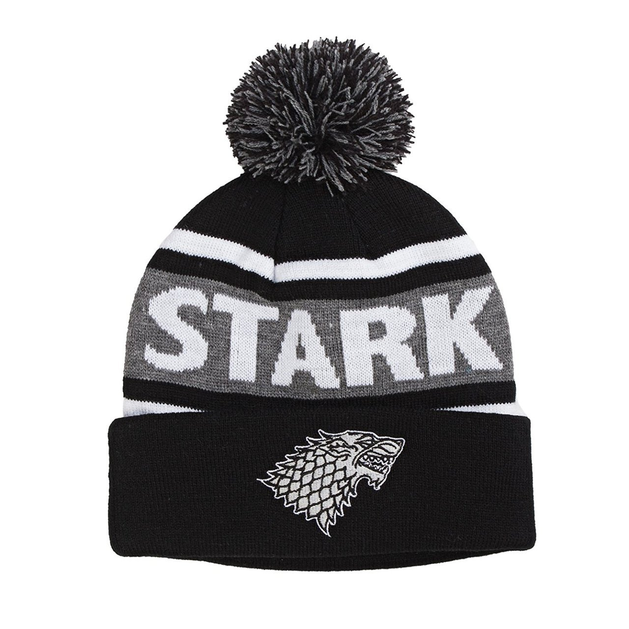 Game of Thrones Stark Pom Beanie