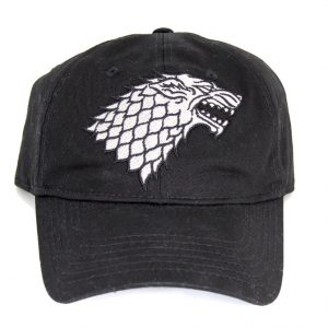 Game of Thrones Stark Winter is Coming Adjustable Snapback Hat