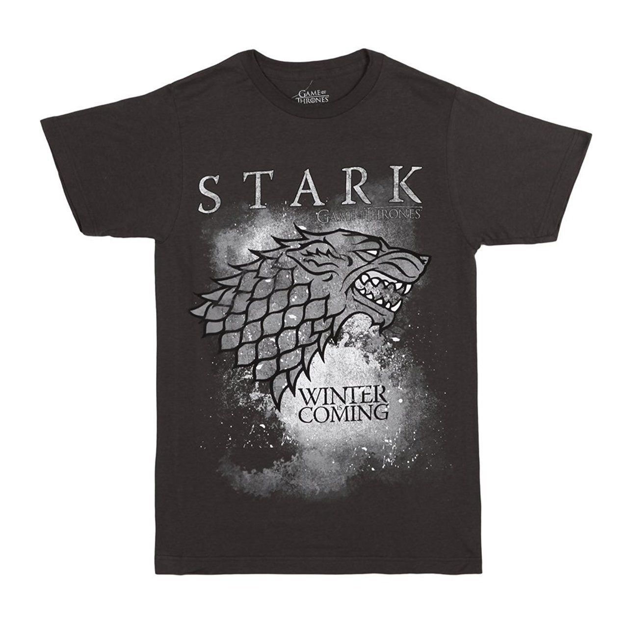 Game of Thrones Stark Wolf Winter Is Coming T Shirt