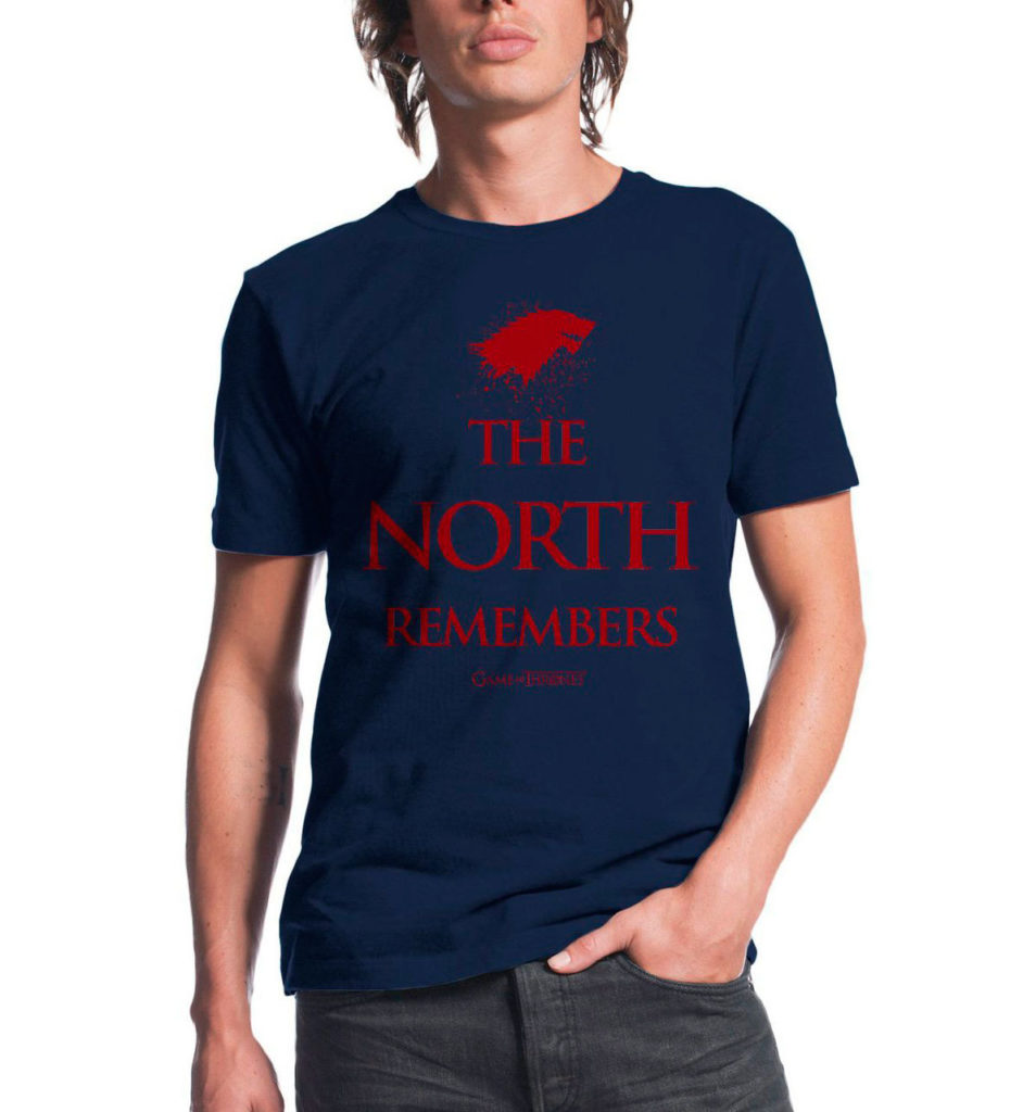 Game of Thrones The North Remembers T Shirt