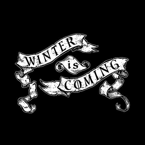 Game of Thrones Winter Is Coming Banner T Shirt