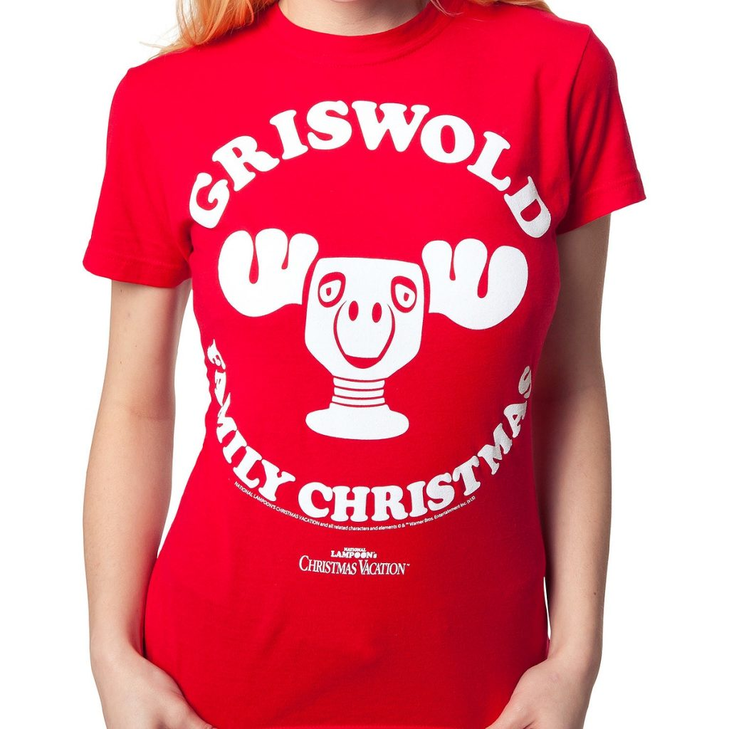 Griswold Family National Lampoons Christmas Vacation Ladies T Shirt