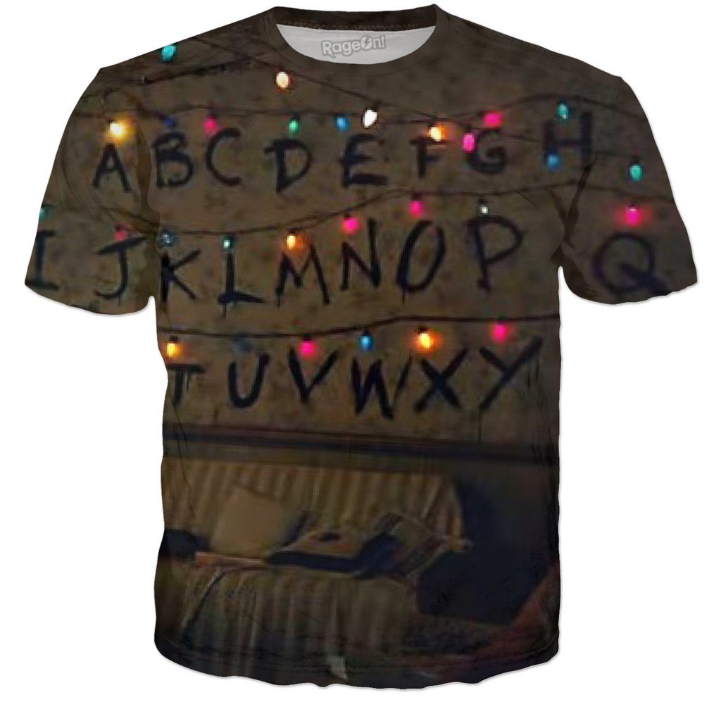 Stranger Things Christmas Lights T Shirt