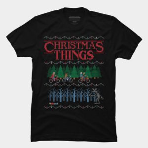Stranger Things Christmas Things Sweater T Shirt