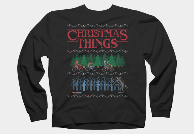Stranger-Things-Christmas-Things-Sweatshirt