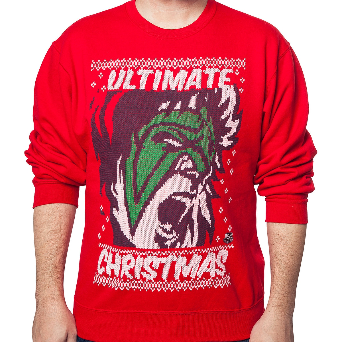 WWE Ultimate Warrior Ultimate Christmas Sweatshirt