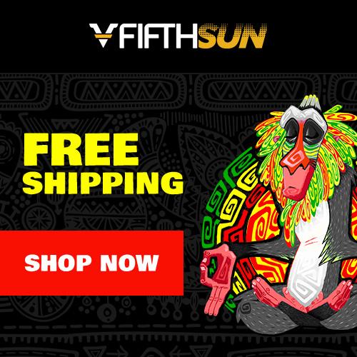 fifthsun free shippin promo