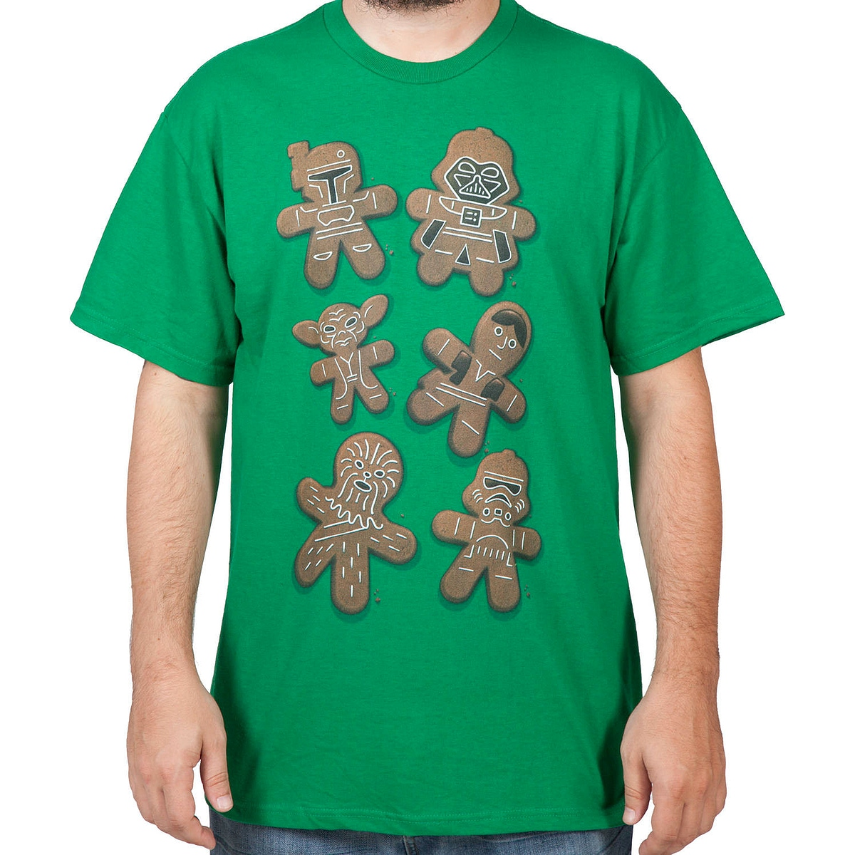 Gingerbread Christmas Cookies Star Wars T Shirt
