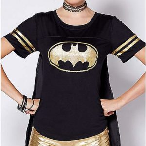 Batgirl Caped T Shirt Costume DC Comics