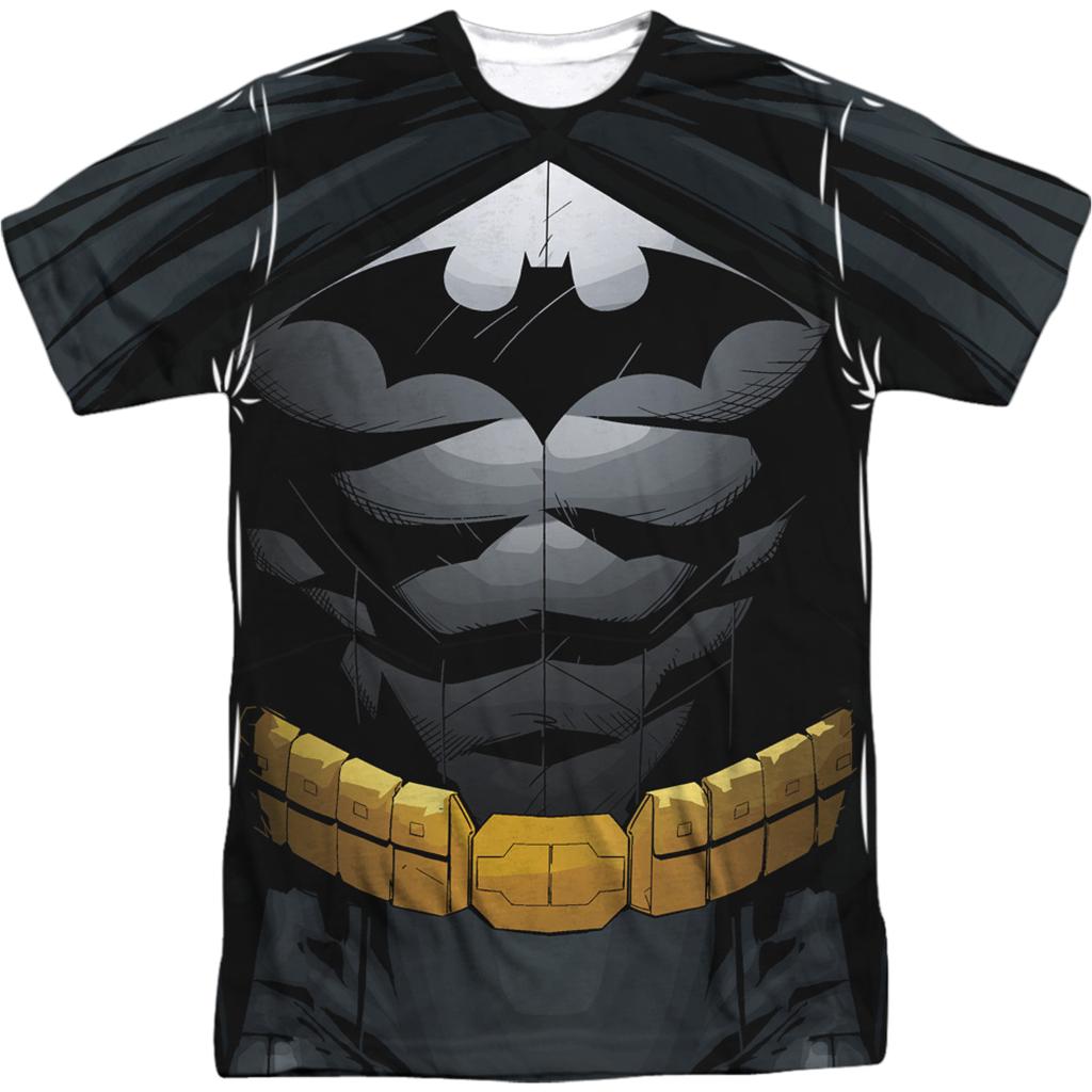 Batman Costume Sublimated DC Comics T Shirt