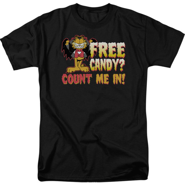Count Me In Garfield T Shirt