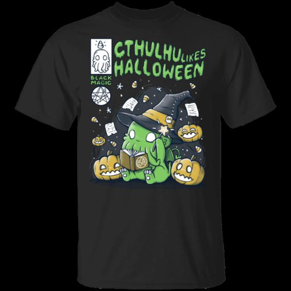 Cthulhu Likes Halloween T Shirt