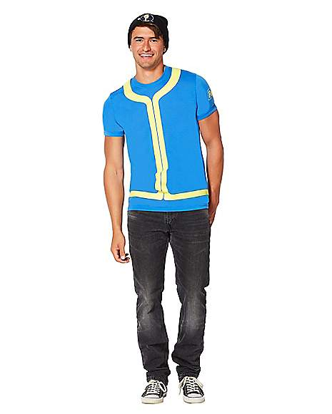 Fallout Vault Boy Costume T Shirt Far