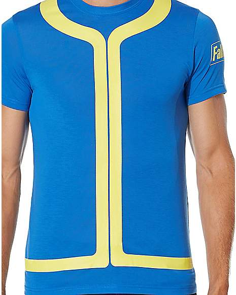 Fallout Vault Boy Costume T Shirt Zoom