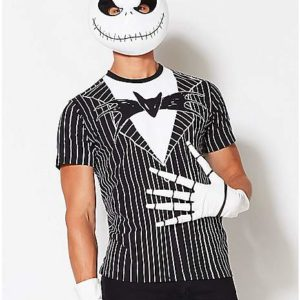 Jack Skellington Bow Tie T Shirt The Nightmare Before Christmas