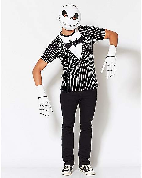 Jack Skellington Bow Tie T Shirt The Nightmare Before Christmas Far