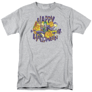 Joker Happy Halloween Batman T Shirt