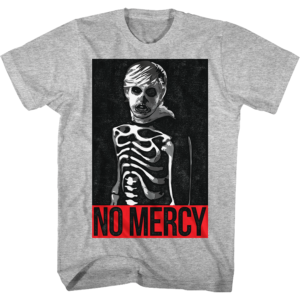 No Mercy Johnny Halloween Skeleton The Karate Kid T Shirt
