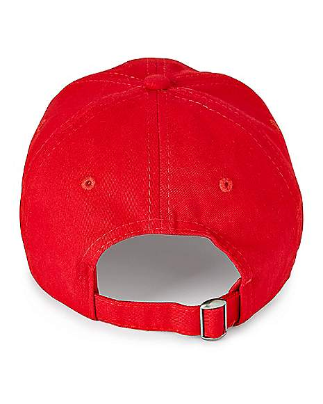 Pizza Planet Red Dad Hat Toy Story Rear
