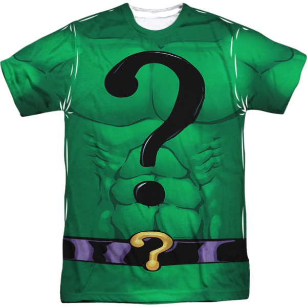 The Riddler Costume Sublimated DC Comics T Shirt