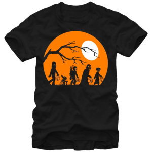 Trick or Treating Star Wars Halloween T Shirt