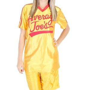 Average Joes Dodgeball Jersey and Shorts Costume