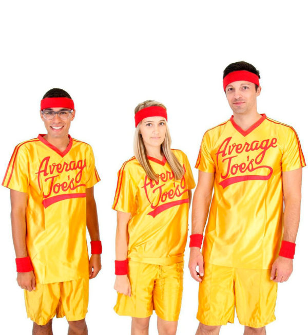 Average Joes Dodgeball Jersey and Shorts Costume Group