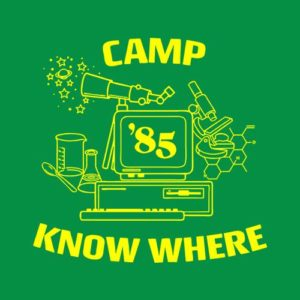 Camp Know Where Dustin Stranger Things T Shirt