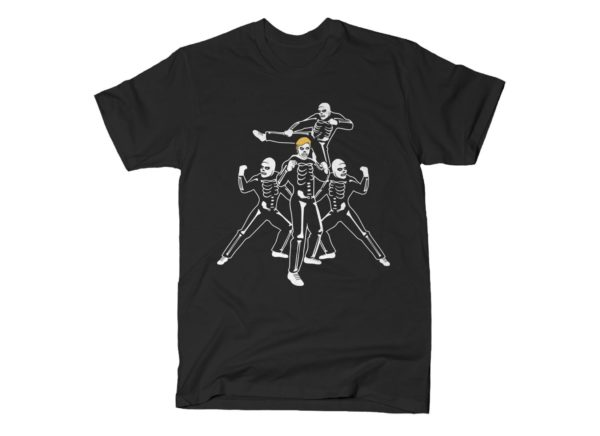 Cobra Kai Skeleton Costumes Karate Kid T Shirt