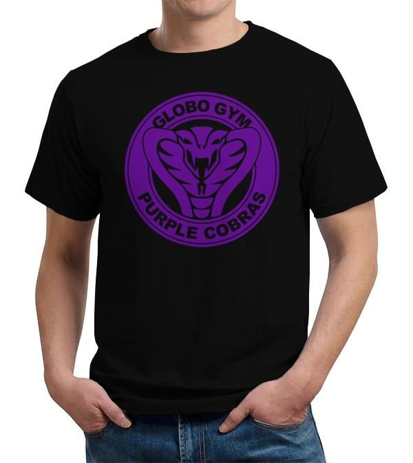 Globo Gym Purple Cobras Dodgeball Movie T Shirt Image2
