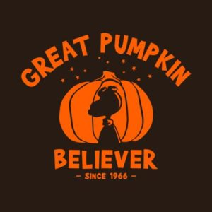 Great Pumpkin Believer Halloween Peanuts T Shirt