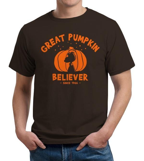 Great Pumpkin Believer Halloween Peanuts T Shirt Image2
