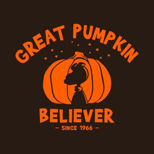 Great Pumpkin Believer Halloween Peanuts T Shirt